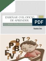 Enseñar o El Oficio de Aprender -Santos Guerra