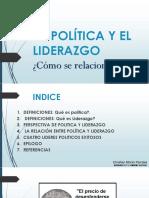 La Política y El Liderazgo