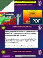 Epidemiologia Ensayo Clinico