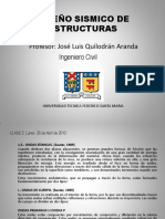 Diseño Sismico de Estructuras 1