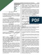 Gaceta Oficial 41525 Financiamiento Credito Viviendas