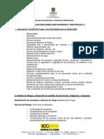 Plan de Emergencia Restaurantes y Discotecas