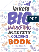 Marketo Big Marketing Activity Coloring Book