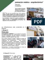 "NAVARRO ESPINOZA RICHARD JHONATAN TAREA N°3 ""Programación médico - arquitectónica"""