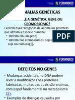 As Principais Anomalias Genéticas No Homem