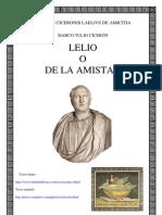 Cicerón marco tulio - Lelio o de la amistad( bilingue)