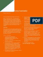 CM Exam Paper 2013 (Metric)