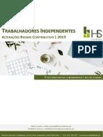 51. Trabalhadores Independentes_Regime Contribuição 2019