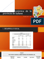Situación Económica de La Provincia de Sullana
