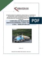 EIA EXPOST PARA LA COMPAÑÍA DE TRANSPORTES Y SERVICIOS HERLOPTRUCKS CÍA. LTDA.