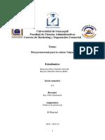 Programa promocional para Valpan