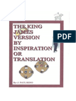 The King James Version by Inspiration or Translation eBook