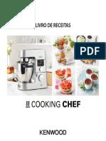 KW Livro de Receitas Cooking Chef