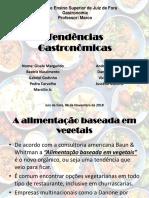 Tendências Gastronômicas