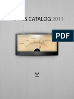 Waves Catalog 2011
