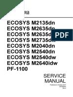 SERVICE M2135dn-M2635dw-M2040dn-M2540dw-M2640idw-PF-1100ENSMR4