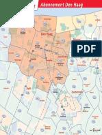 Zonekaart Den Haag