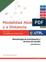 Metodología de Investigacion y tecnicas de estudio - Guia Didactica.pdf