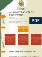 Administración de Proyectos Ppt
