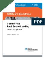 Commercial Real Estate Lending