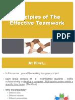 Teamwork Principles