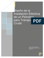 Diseño de La Instalación Eléctrica de Un Petrolero Para Tran