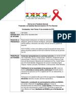 Informe Presidenta REDBOL MAR 2016-NOV 2018