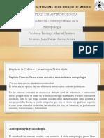 Presentacion Tendencias Contemporáneas de La Antropología