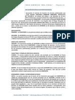 Locacion de Servicios Profesionales - ESTUDIO REA