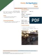 Evento HSE Minera Spence No Significativo - Amago Perforadora 2