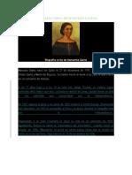 Biografía Corta de Manuelita Sáenz