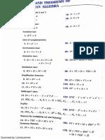 Teoremas Del Algebra Booleana