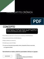 Exposicion de Pancreatitis Crónica