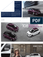 Peugeot 108 brochure-Greek