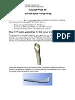 Tutorial Week 10 - Internal Bone Remodelling