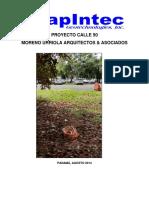 Informe Resistividad Calle 50