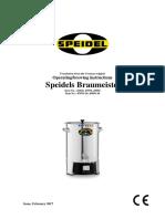 Betriebsanleitung Braumeister 10l 20l 50l Englisch Februar 2017