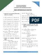 4. Ecuaciones Diferenciales Exactas