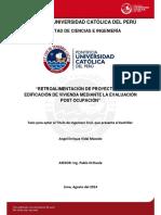 Vidal Angel Proyectos Edificacion Vivienda Evalaucion Post Ocupacion