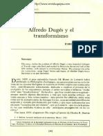 (1988) E. Beltrán, Dugès y el transformismo