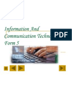 Information and Communication Technology Form 5