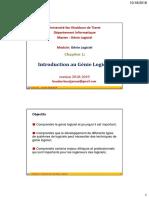 GL-Chapitre1-Introduction Au Génie Logiciel