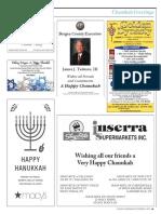 Jewish Standard Chanukah Greetings 2017