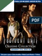 Guia y Trucos Resident Evil Zero 2017