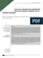 DSM 5 y Consumo de Sustancias