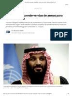 Alemanha Suspende Vendas de Armas Para Arábia Saudita _ Mundo _ G1