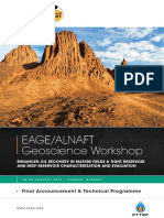 Programme - Eage-Alnaft Geoscience Workshop 2019