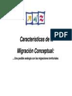1 Caracter Sticas Migraciones Conceptuales
