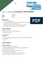 Profitability Analysis in Sap s4hana