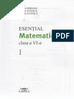 Esential. Matematica - Clasa 6. Partea I - Marius Perianu.pdf